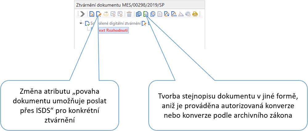 vlastní popis datovacího profilu